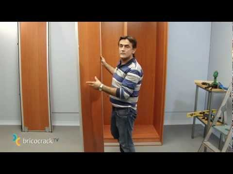 Instalar un armario en kit: puertas correderas (BricocrackTV)