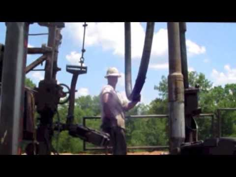 Drilling - Mathews Oil - Well Site #1