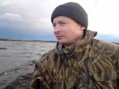ролик суровый рыбак