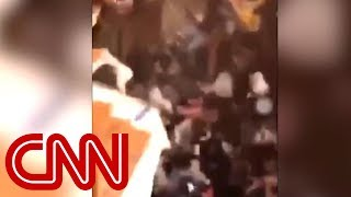 Floor collapses at Clemson homecoming party