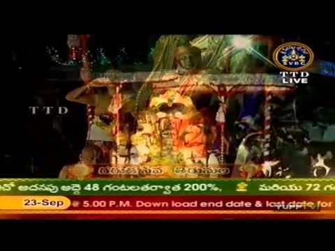 Tirumala Brahmotsavams 2012: Garuda Seva Part 1