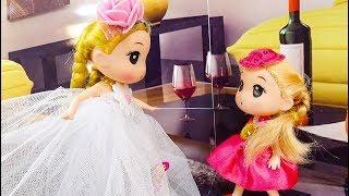 Chibi trắng nóng nảy - B61 - Nữ hoàng búp bê baby doll