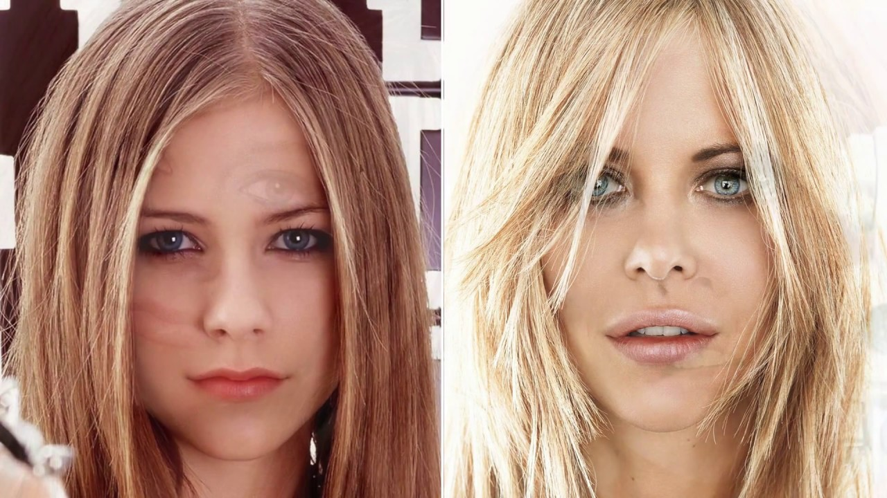 Avril Lavigne And Meg Ryan Do They Look Alike Not