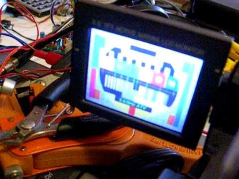 Commtech 13cm 2.4GHz ATV Amateur TV Modules Test
