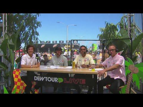 Dew Tour Team Challenge Tech Section
