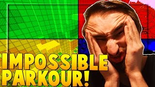 IMPOSSIBLE PARKOUR - Minecraft 4 Color Towers w/ PrestonPlayz, MrWoofless and TBNRKenworth