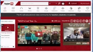 5  TeacherTube Upload Resources