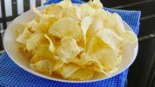 Homemade Vinegar Potato Chips