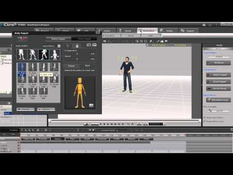 Using MoCap and Multi-Layer Motions
