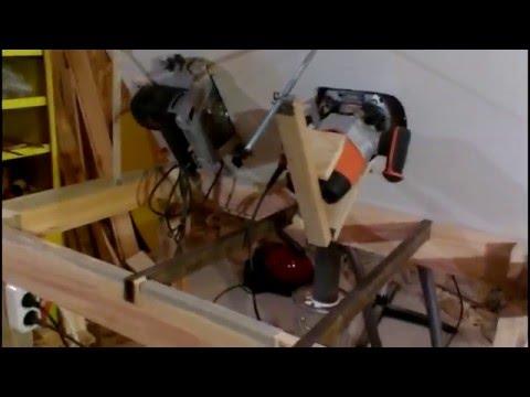 Изготовление мебели фрезером своими руками