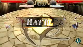 King's Raid - Arena Sv.Asia 5/10/2560 (Hilight!!!)