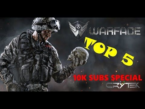 BEST PLAYS IN WARFACE [10K SUBS Special]