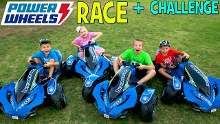 Power Wheels Boomerang Challenge! - Family Fun Pack
