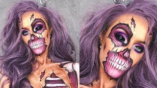 ZOMBIE INSTA QUEENMAKEUP TUTORIAL