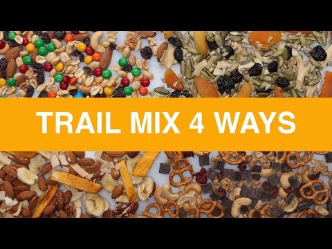 Trail Mix 4 Ways