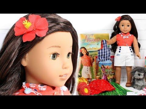 American Girl Nanea Doll Set Review