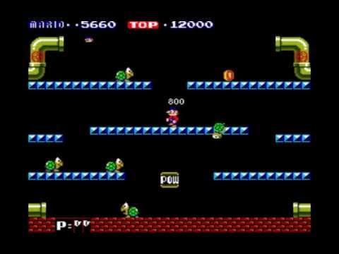 Mario Bros. (1983 Arcade Gameplay) - YouTube