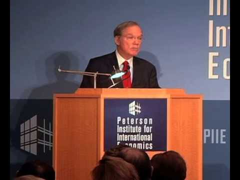 C. Fred Bergsten on Currency Wars and US Economy