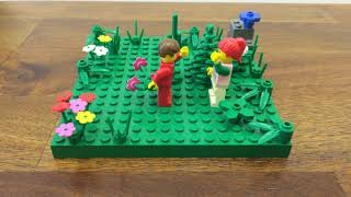 Valentine's Day Lego Stop Motion Video