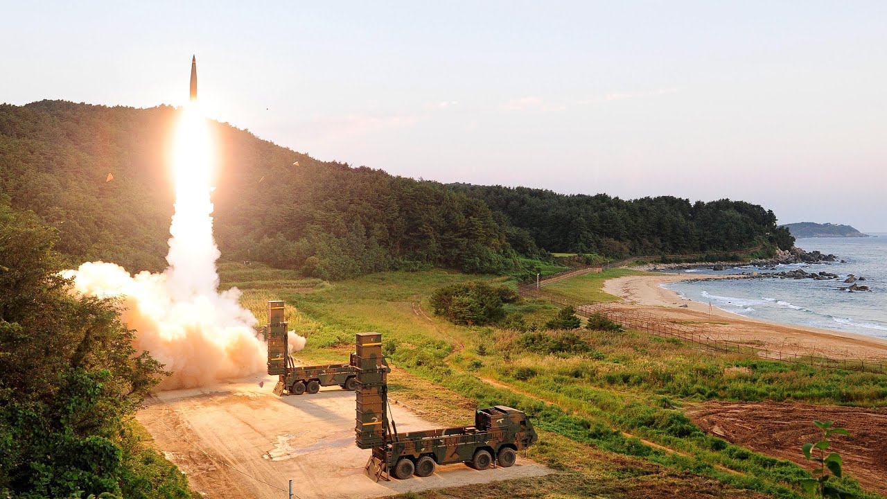South Korea launches ballistic missiles in simulated attack on North Korea