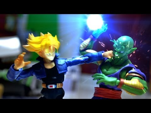 Dragon Ball Z Stop Motion - Piccolo Vs Trunks 七龍珠-比克vs特南克斯 video