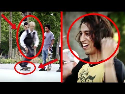 PROFI Skateboarder VERKLEIDET sich als ALTER OPA...