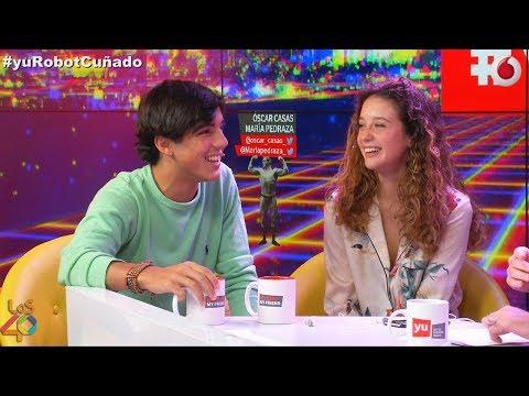 Óscar Casas y María Pedraza comparten miraditas #yuRobotCuñado