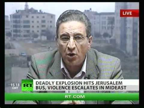 DEASLY EXPLOSION ON JERUSALEM BUS VIOLENCE ESCALATES IN MIDEAST 23.03.2011