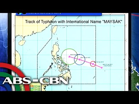Where Typhoon Chedeng will landfall?