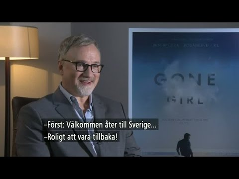 Kultregissören David Fincher gör film av succéromanen Gone girl - Nyhetsmorgon (TV4)