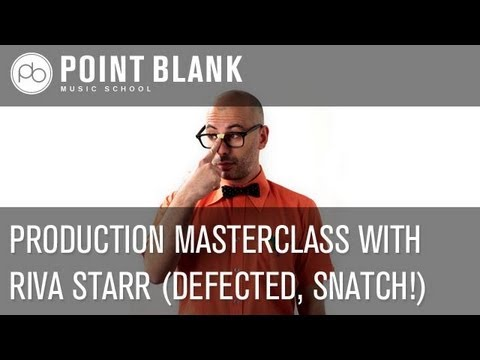 Ableton Masterclass with Riva Starr - (13.03.2013)