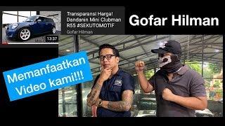 Gofar Hilman memanfaatkan video kami!!!