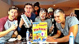 PIE FACE CHALLENGE (GONE WRONG)