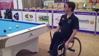 WPA World 9-Ball Championship For Wheelchair Athletes-Kielce  Larsson Henrik vs Leszek Blumczynski