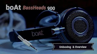 BoAt BASS HEADS 900 Unboxing & Overview
