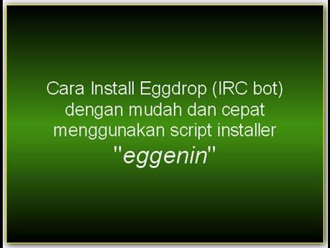 Cara install Eggdrop (IRC bot) kurang dari 5 menit dengan script installer