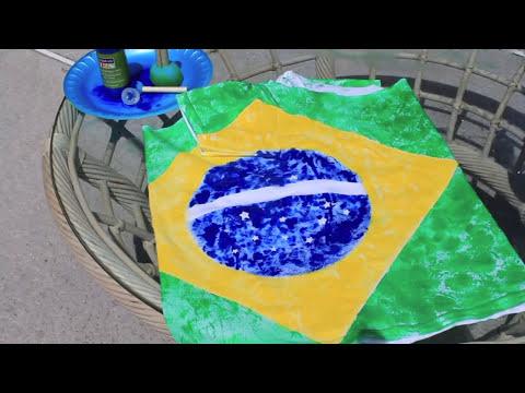DIY: Customizando camisas para a Copa