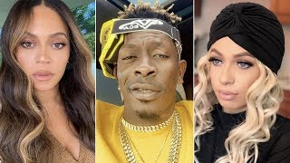 Beyonce & Shatta Wale Set World Record, Mariahlynn ft Shatta Wale Album Cover Unveiled