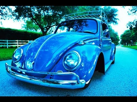 VW Beetle Lowered 1966 part 1 - YouTube