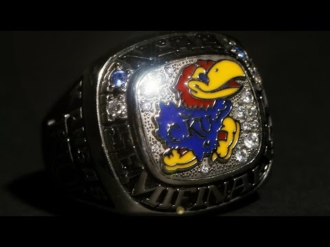 Final Four Ring // Kansas Volleyball // 4.19.16