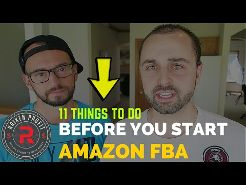 11 Things to do Before you Start Selling on Amazon FBA