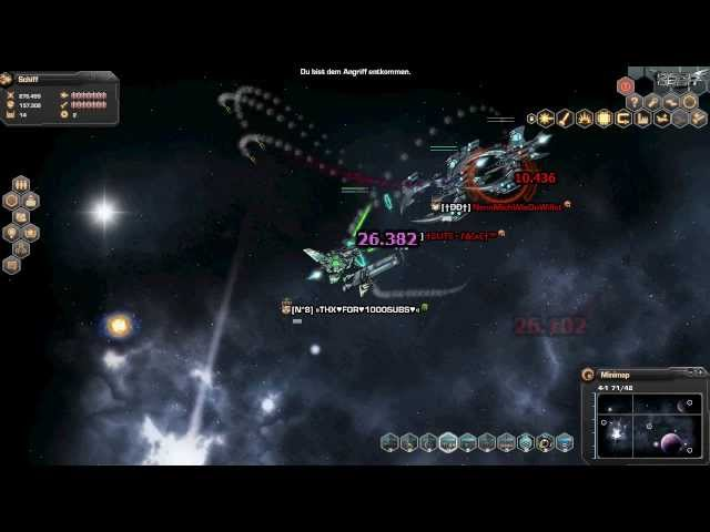 Darkorbit Level 23 + 1000 ABO´s [SPECIAL] by Blackfire