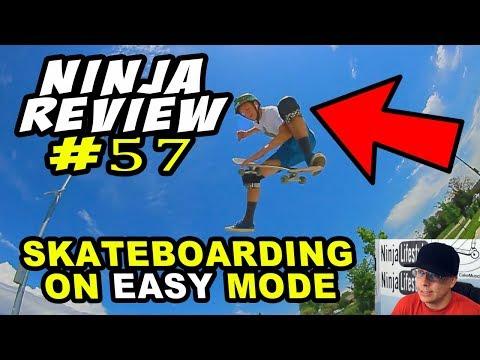 Ninja Review #57: Kneepads & No-Complys (Easy Mode)