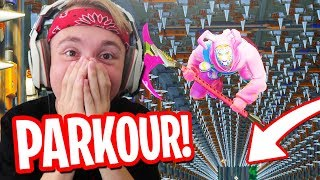 TRAP PARKOUR CHALLENGE! -  Fortnite: Battle Royale Nederlands