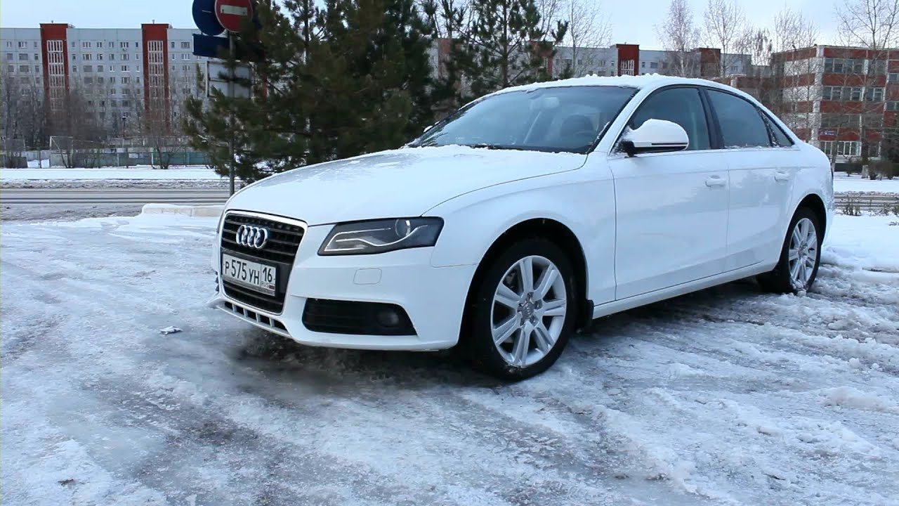 2008 Audi А4 2 0 Tdi Start Up Engine And In Depth Tour