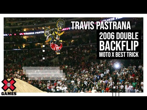 Travis Pastrana Double Backflip Moto X Best Trick - X Games 12