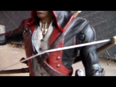 Assassins Creed III Connor in New York outfit action figure review!