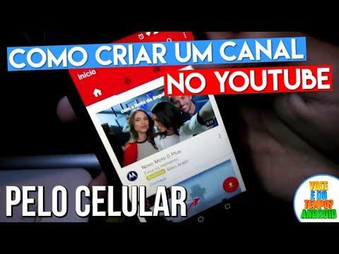 Como Criar um Canal no YouTube Pelo Celular Android thumbnail