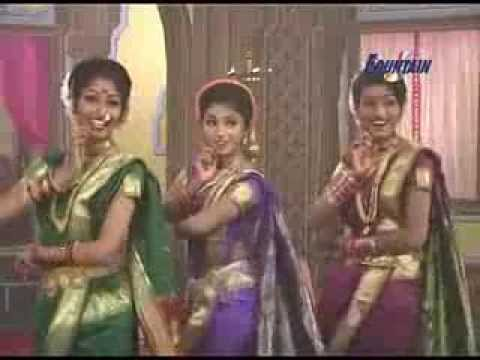 Chaitrali Raje In Lavani disala Ga Bai Disala video