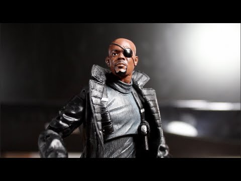 Captain America The First Avenger: Marvel Legends Nick Fury - SSJ Reviews 372